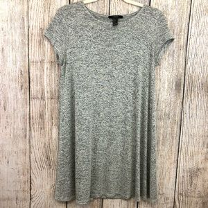 Forever 21 Gray Tunic Size Large